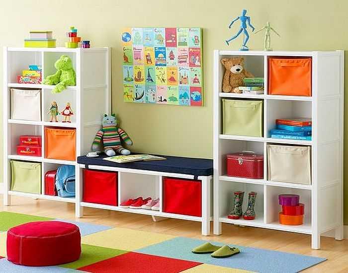 Fotos de una esquina para juguetes. El armario original para ...