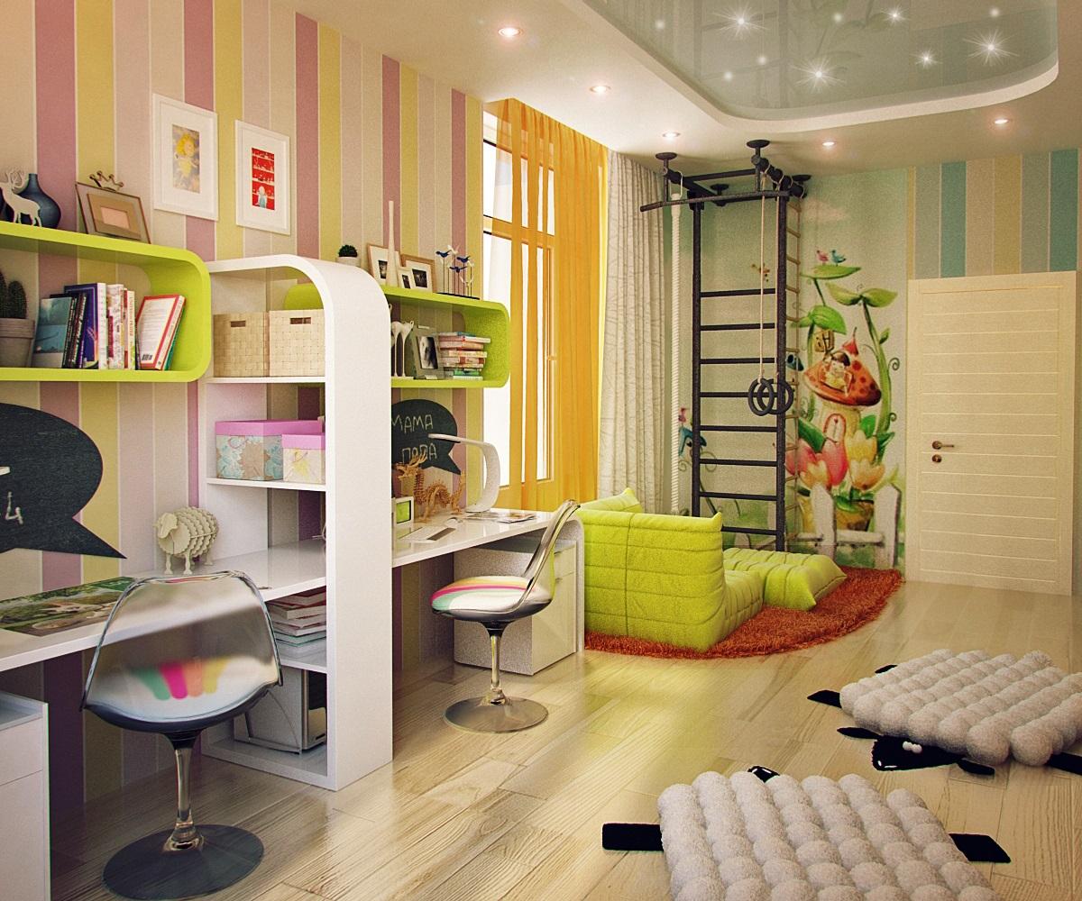 Proyectos de habitaciones infantiles para niños. Diseño infantil con ...