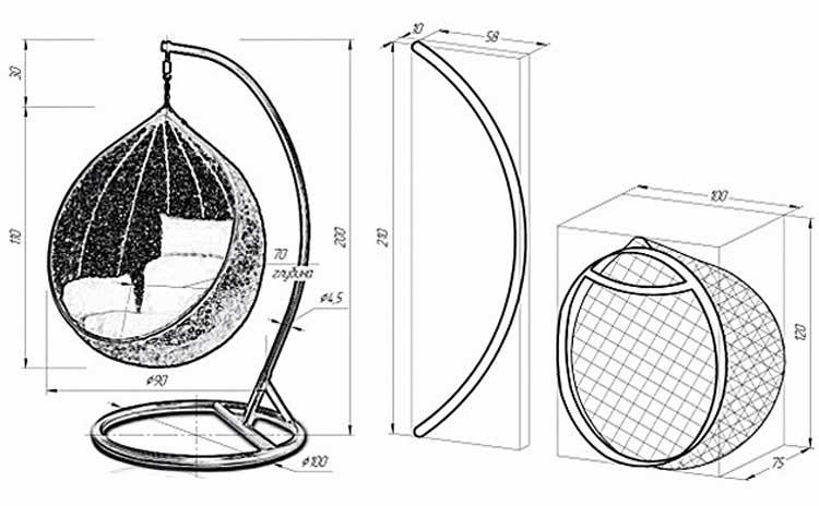Descripción detallada del montaje del columpio de las tuberías con ...