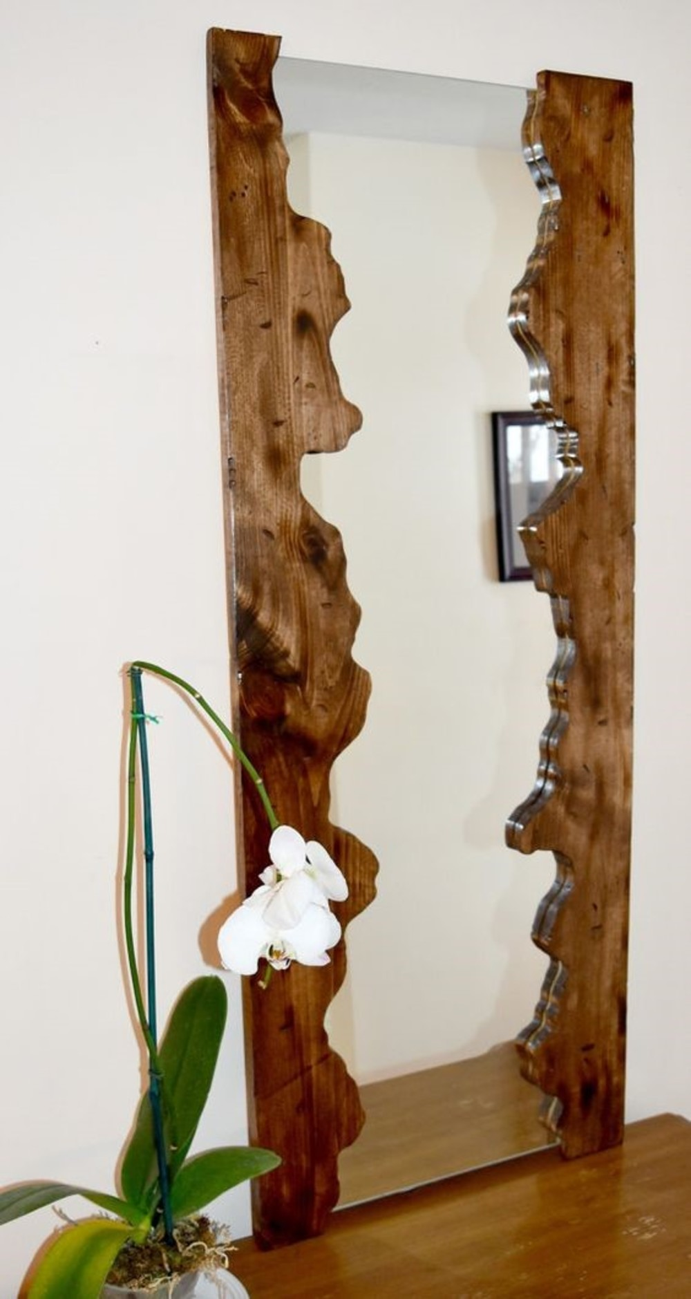 Marco para el espejo hecho de tela. Hacer marcos para espejos en ...
