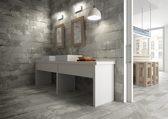 Loft Stil flise med mønstre i orientalsk loft stil flise til badeværelse i