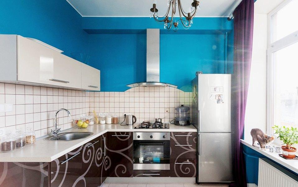De qué color de las paredes se combina con muebles blancos. Color en ...