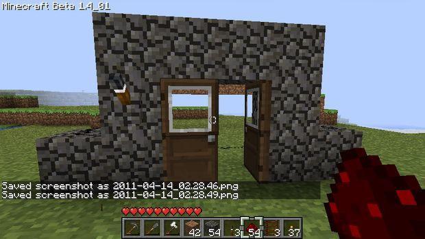 Cancelletto Minecraft : Come fare una recinzione in maynecraft.